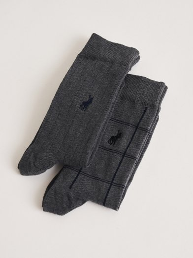 Polo two pack socks